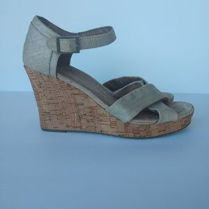 Toms Sienna Wedge Sandals